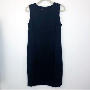 Lafayette 148 Black Wool Sheath Career Dress 6